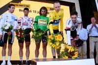 L'hommage des champions du Tour aux victimes de l'attentat de Nice