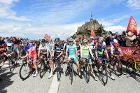 Le départ du Tour de France 2016 au Mont-Saint-Michel