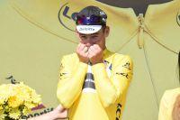 Mark Cavendish en jaune