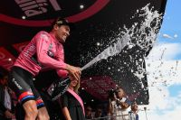 Tom Dumoulin, maillot rose du Tour d'Italie