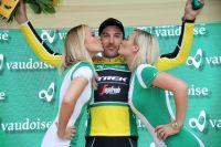 Fabian Cancellara en jaune au Tour de Suisse