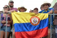 Des supporters colombiens