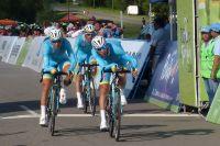 Vincenzo Nibali emmène l'équipe Astana