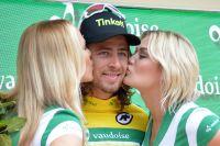 Peter Sagan en jaune