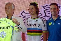 La venue du champion du monde Peter Sagan est un événement pour les organisateurs argentins