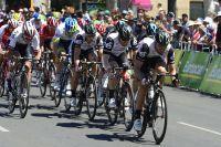 Le Team Dimension Data prépare le sprint