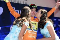 Jay McCarthy, nouveau leader du Tour Down Under