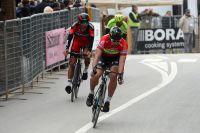 Peter Sagan et Greg Van Avermaet s'échappent