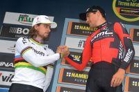 Peter Sagan et sa bête noire Greg Van Avermaet