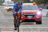 Greg Van Avermaet garde 72 centièmes de seconde d'avance sur Peter Sagan