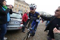 Tom Boonen au départ de Paris-Roubaix