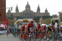 Le peloton du Tour de Catalogne rejoint Barcelone