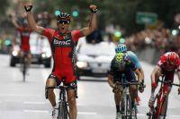 Philippe Gilbert bat Alejandro Valverde à l'arrivée du Tour de Murcie