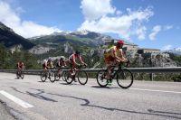 Les coureurs du Tour de Savoie Mont Blanc