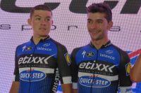 Révélés au Tour de San Luis l'an dernier, Fernando Gaviria et Rodrigo Contreras font leur retour sur l'épreuve argentine avec Etixx-Quick Step