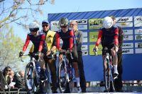 Le Team Wiggins au départ du chrono par équipes