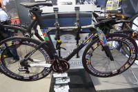 Un beau vélo moucheté chez Airstreem