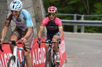 Le porteur du dossard 101 sur le Giro, Valerio Conti