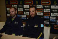 Vincenzo Nibali et Alejandro Valverde