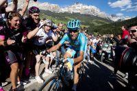 Vincenzo Nibali soutenu par les tifosi