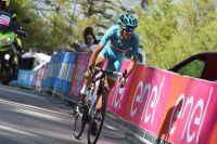 Vincenzo Nibali insiste sur le haut de la montée de Risoul