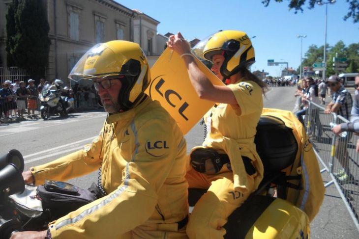 Mon Tour de France... Claire Pedrono