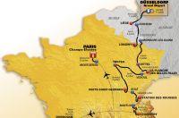 Les profils du Tour de France 2017