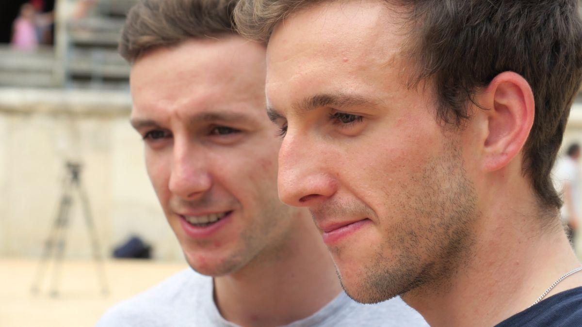 Adam Yates et Simon Yates