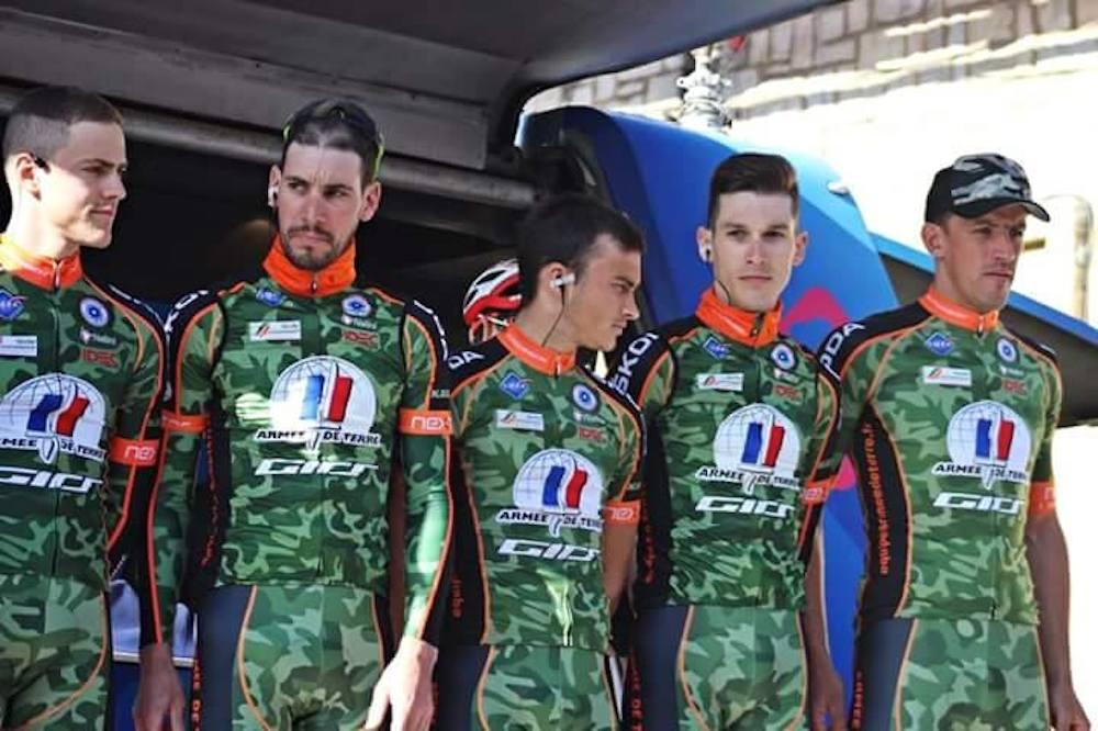 L'équipe de l'Armée de Terre