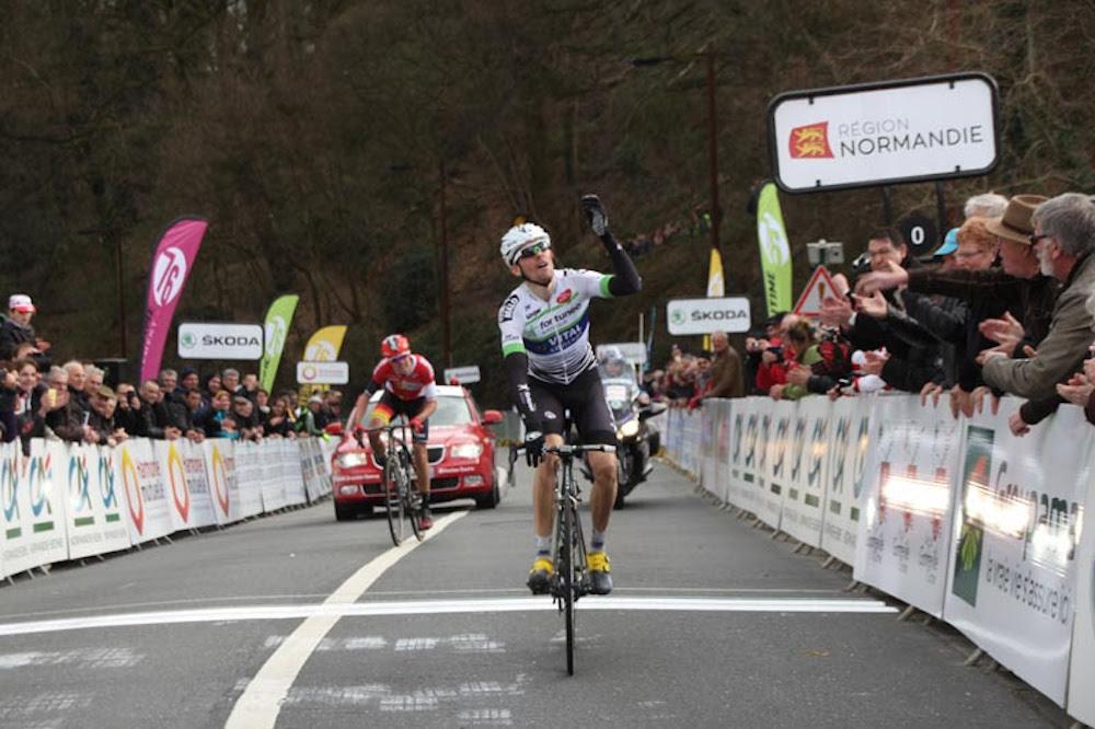 Anthony Delaplace vainqueur