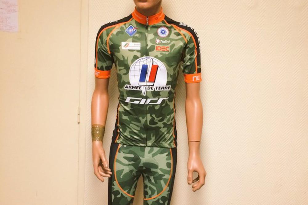 Le maillot de l'Armée de Terre