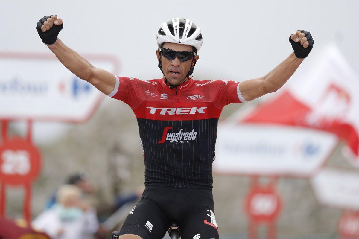 Alberto Contador s'impose à l'Angliru