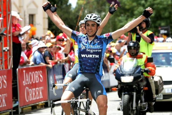 Alberto Contador s'impose sur le Mont Willunga en 2005