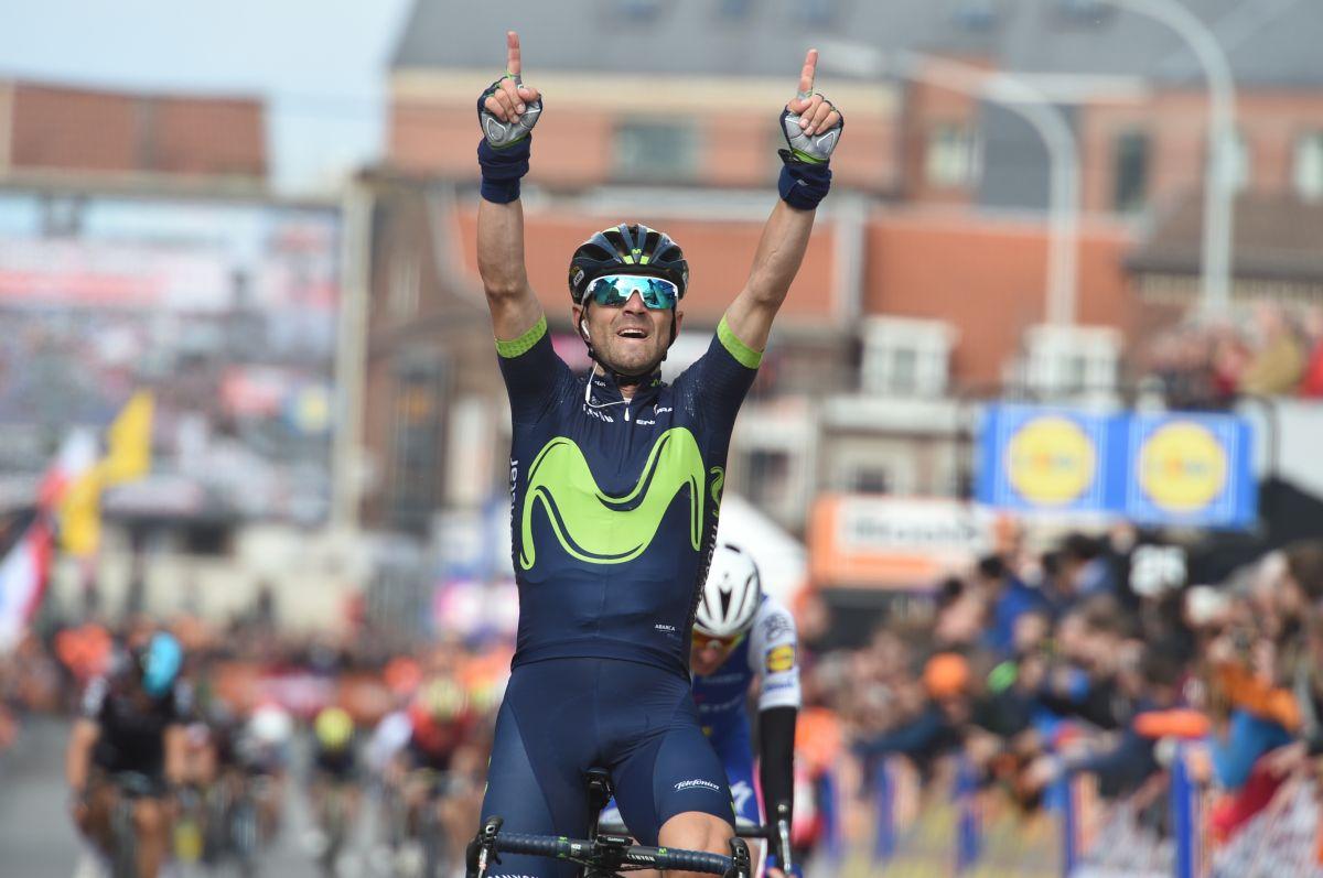 Alejandro Valverde remporte Liège-Bastogne-Liège pour la 4ème fois
