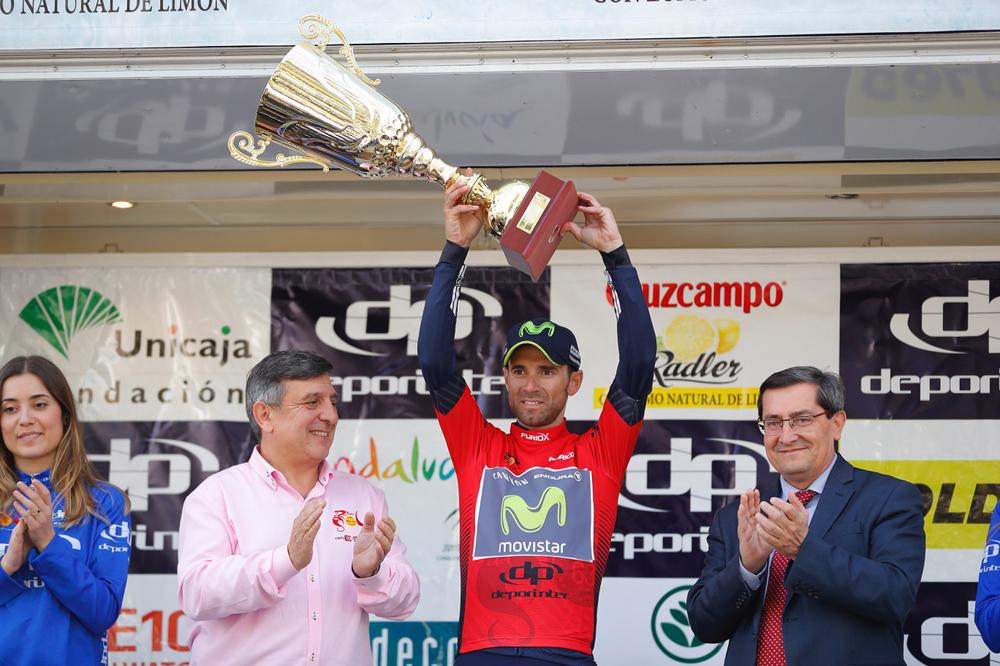 Alejandro Valverde leader de la Ruta del Sol