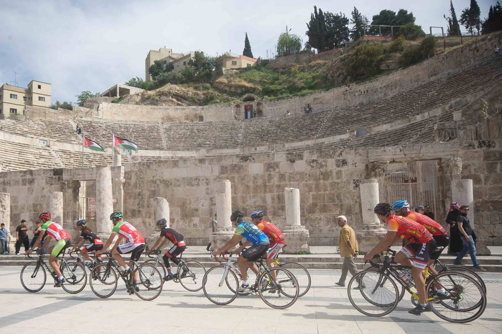 L'épreuve s'élancera depuis l'ancien amphithéâtre d'Amman