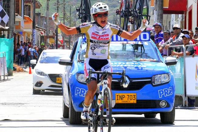Ana-Cristina Sanabria s'impose à El Dovio en Colombie