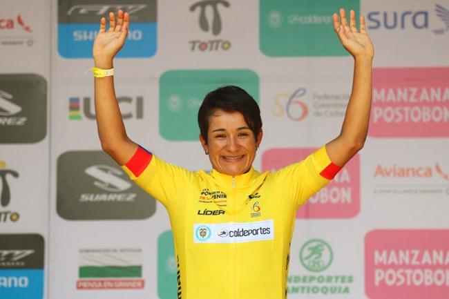 Ana-Cristina Sanabria s'offre le Tour de Colombie 2017
