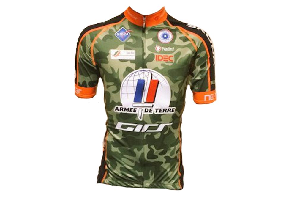 Le maillot Nalini de l'Armée de Terre