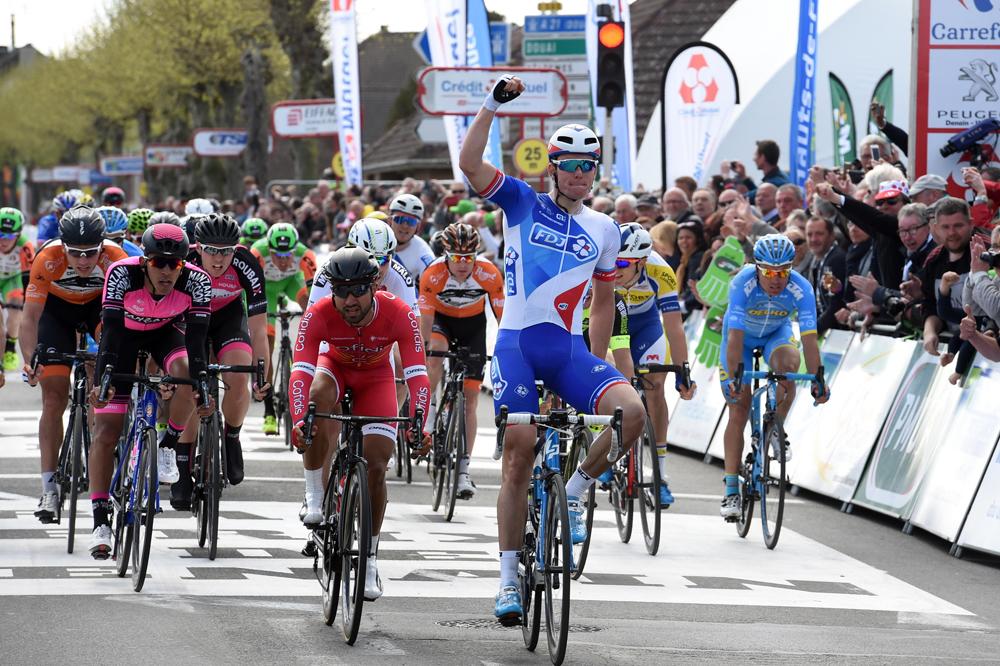 Arnaud Démare vainqueur à Denain