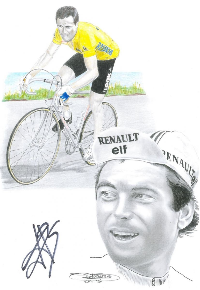 Bernard Hinault par Didier Ferraris