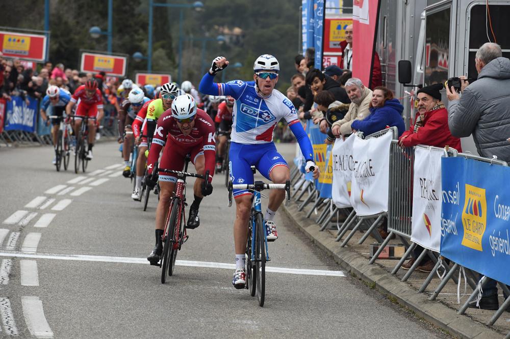 Arnaud Démare vainqueur