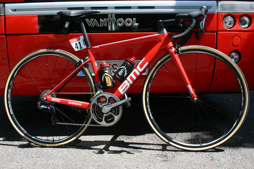 Tour de france le bmc teammachine slr01 de richie for Richie porte and bmc