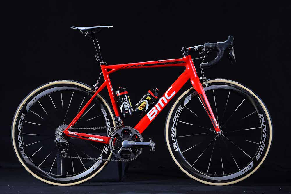 Le BMC Teammachine SLR01
