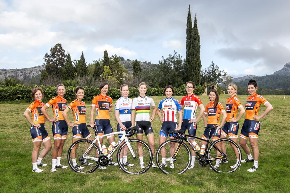 L'équipe Boels-Dolmans dans sa version 2017