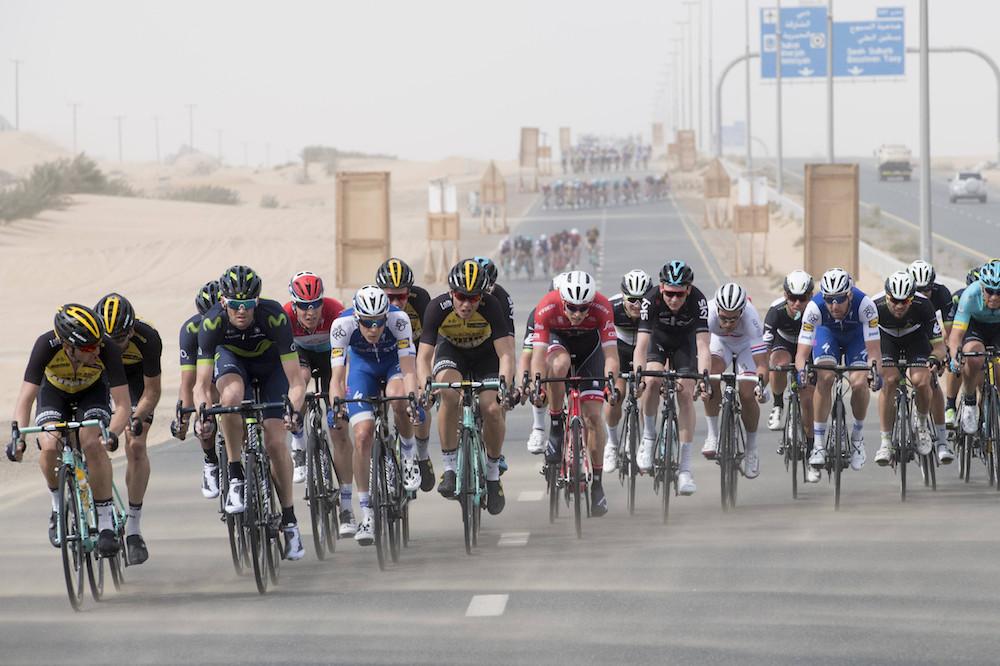 Ca bordure au Tour de Dubaï !