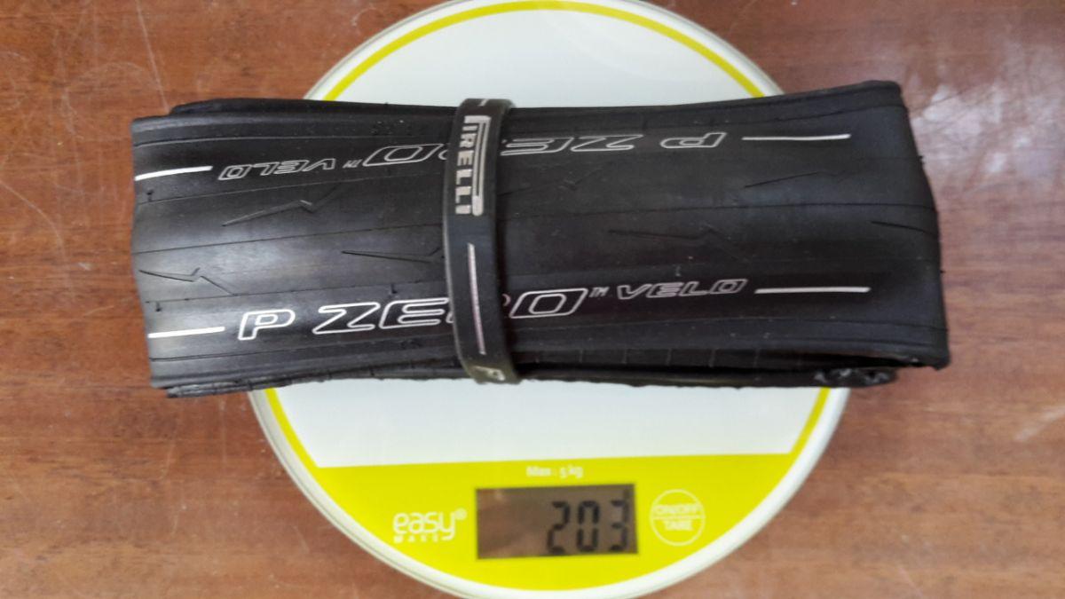 Boyaux Pirelli pesés