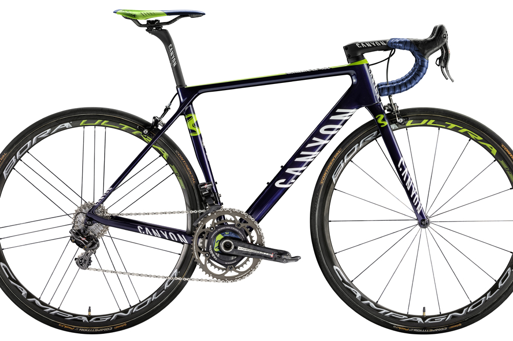 Le Canyon Ultimate CF SLX de Movistar Team