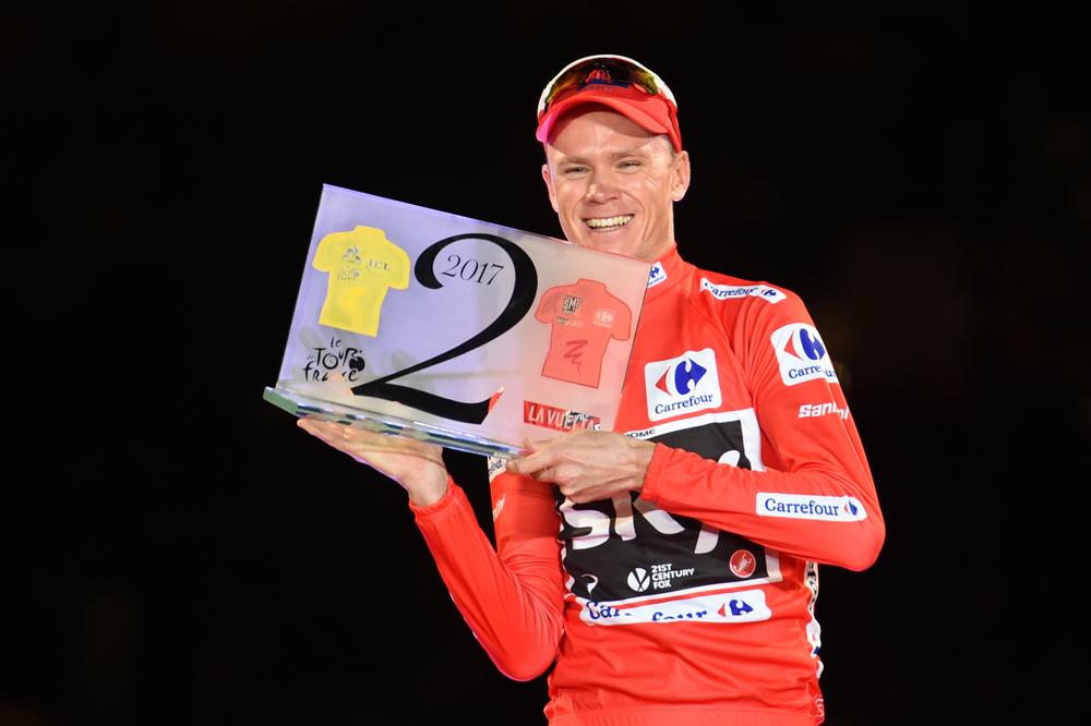 Chris Froome réalise le premier doublé Tour-Vuelta