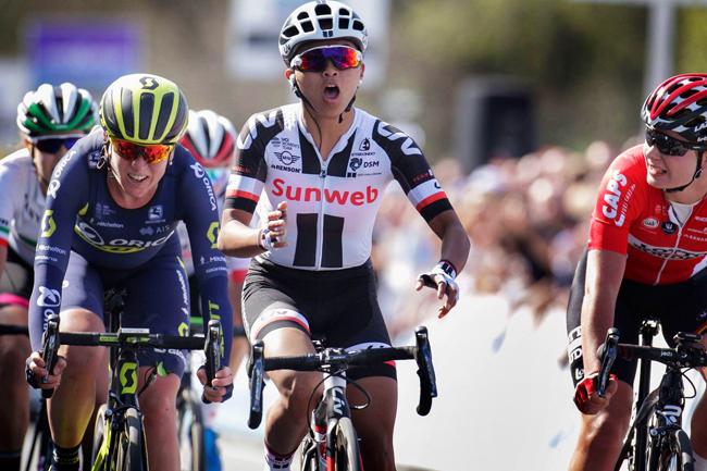Coryn Rivera remporte le Ronde 2017